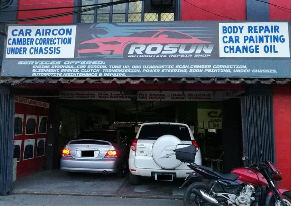 Cars in Rosun Car Center, A Car Shop in the South