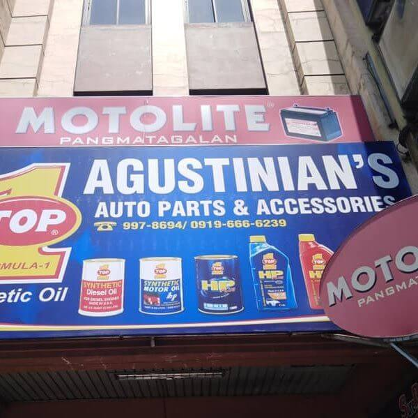 Agustinian's replacement car parts