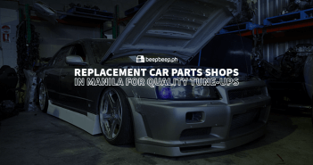 Replacement Car Parts Shops in Manila for Quality Tune-Ups