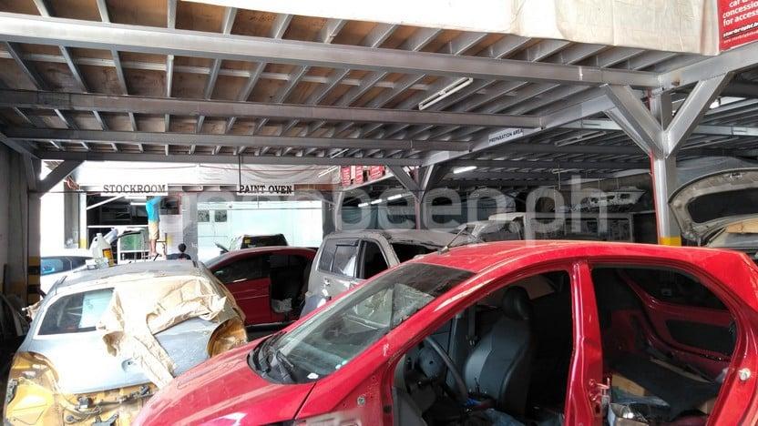 car body repair shops