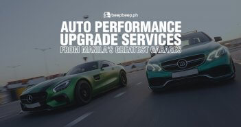 Auto Performance Upgrade Services from Manila's Greatest Garages
