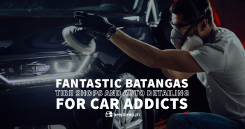 Fantastic Batangas Tire Shops and Auto Detailing for Car Addicts