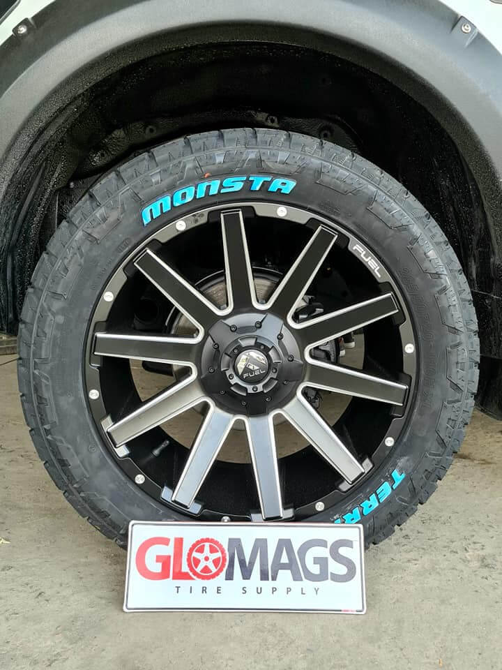 go big or go home with GloMags Tire Supply
