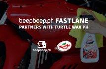beepbeep.ph FastLane partners with Turtle Wax PH