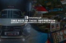 Two Premium QC Car Services